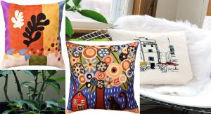 Home Design Suggestions For Hand Embroidered Pillows